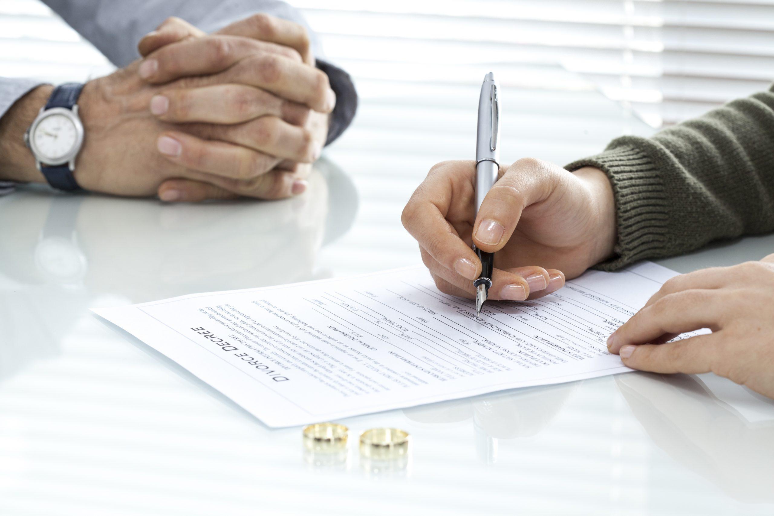 Trennungs Und Scheidungsvereinbarung Muster Word Pdf